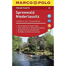 MARCO POLO Freizeitkarte Spreewald, Niederlausitz