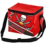 Forever Collectibles Unisex 6 Big Logo Stripe 6 Pack Kühler, Tampa Bay Buccaneers, One size