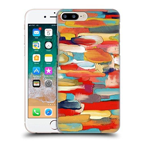 Ufficiale Giulio Rossi Astratto Collezione Pennellate Cover Retro Rigida per Apple iPhone 5 / 5s / SE Pennello