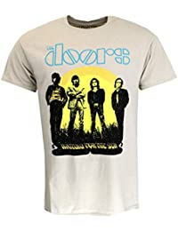 The Doors 1968 Tour T-Shirt Sand Official Licensed Music