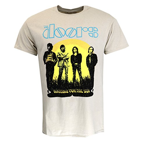 The Doors 1968 Tour T-shirt Sand Offiziell Lizensiert Musik (Konzert-tour-shirt)