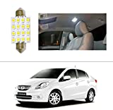 AutoStark 16 LED Roof Light Car Dome Light Reading Light for Honda Amaze