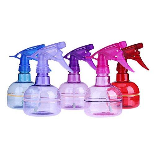 Gowind6 - Botella de spray de 250 ml con pulverizador de agua, para peluquería, salón, jardín (color al azar)