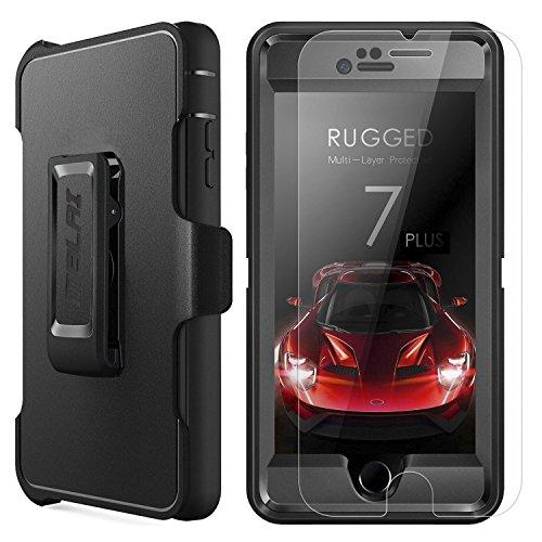MBLAI Iphone 8 Plus Hülle, Iphone 7 Plus-Hülle, Heavy Duty Serie Stoßfest Außen 4 Schicht Armorbox Schutzhülle Abdeckung Ganzkörper-Fall-Schale - Iphone 4 Bildschirm Für Sprint