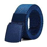 ITIEZY Cintura Militare Nylon Cintura Uomo Lavoro Cintura Tattica Fibbia Plastica Uomo per Lavorare Sport All'aperto