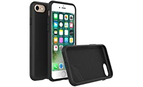 RhinoShield Case for iPhone 8 / iPhone 7 [NOT Plus] [PlayProof] | Heavy Duty Shock Absorbent [High Durability] Scratch Resistant. Ultra Thin. 3.5 meters Drop Protection Rugged Cover - Black