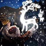 LED Schneeflocken Projektor, Schneefall Licht Lichteffekt Projektionslampe IP65 Wasserdicht Schneeflocke weihnachtsbeleuchtung für Außen und Innen Deko, Partys, Weinachten, Feiertage, Halloween