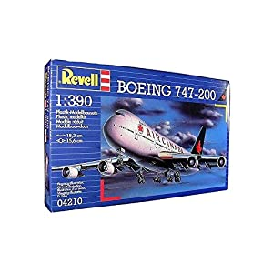 "Revell Boeing 747-200"" Air Canada, Kit de Modelo, Escala 1:390 (4210) (04210), Multicolor"