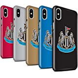 Offiziell Newcastle United FC Hülle / Glanz Snap-On Case für Apple iPhone X/10 / Pack 12pcs Muster / NUFC Fußball Crest Kollektion