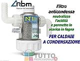 FIltro per caldaia condensazione per neutralizzare acidità condensa