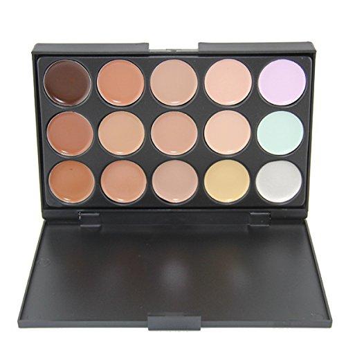 Cdet 15 Couleurs Palette de Fard à Paupière Waterproof Durable Makeup Palette Correcteur d'ombres à paupières