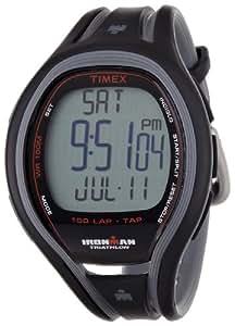 Timex Ironman Sleek 150 Lap Tapscreen T5K253SU Men's Digital Quartz Watch with Black Resin Strap
