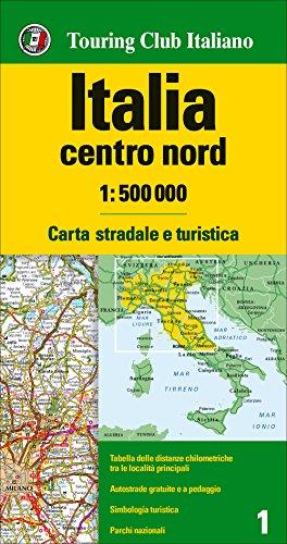 Italia centro nord 1:500.000. Carta stradale e turistica