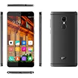 "[Elephone Official Store] Elephone S3 4G Lte- Frame-Menos Smartphone libre Android 6.0(pantalla 5.2"", cámara 13 Mp, 16 GB ROM, Octa-Core 1.3 GHz, 3 GB RAM) Gris"