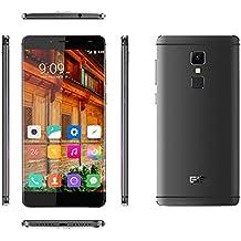 "[Elephone Official Store] Elephone S3 4G Lte- Frame-Menos Smartphone libre Android 6.0(pantalla 5.2"", cámara 13 Mp, 16 GB ROM, Octa-Core 1.3 GHz, 3 GB RAM) Gris"
