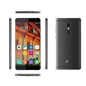 [Elephone Official Store] Elephone S3 - Randlos Smartphone 4G 5.2 Zoll Android 6.0, 16GB ROM, 3GB RAM, Octa-Core 64-bit Dual SIM Grau