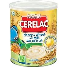 Nestlé Cerelac - La miel y trigo con leche 400G (A partir de 1 año