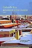 Telecharger Livres Bonheur d occasion (PDF,EPUB,MOBI) gratuits en Francaise