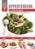 Hypertension - 21 jours de menus by Alexandra Leduc (September 08,2014) - Modus Vivendi (September 08,2014)