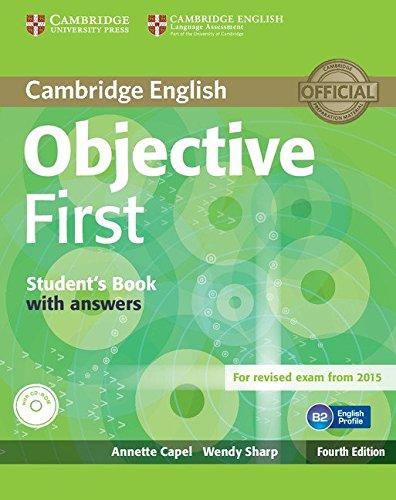 Objective first certificate. Student's book with answers. Per le Scuole superiori. Con CD-ROM. Con espansione online