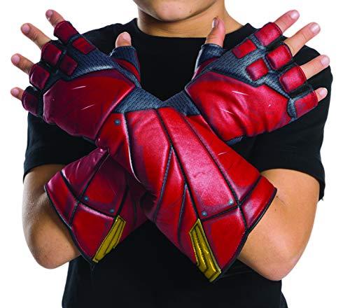 Flash-Justice League Movie Kinder Handschuhe, Einheitsgröße (Rubie 's Spain 34255)