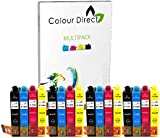 16 Colour Direct Compatible Ink Cartridges Replacement For Epson Stylus S22 SX125 SX130 SX230 SX235W SX420W SX425W SX430W SX435W SX438W SX440W SX445W SX445WE Epson Stylus Office BX305F BX305FW Printers Printers 4 Black 4 Cyan 4 Magenta 4 Yellow