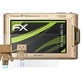 Sony DSC-TX1 Miroir Film Protecteur - atFoliX FX-Mirror Protection d'écran avec effet miroir
