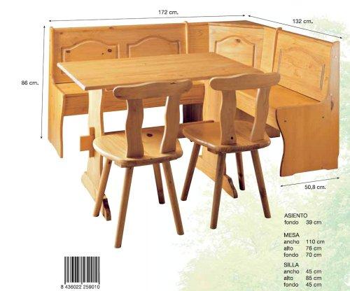 La Factoría Muebles - Conjunto rinconera