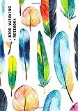 Bird Watching Notebook: Feather Design | Logbook Journal Diary | Gifts For Birdwatchers Birdwatching Lovers | Log Wildlife Birds, List Species Seen | Great Book For Adults & Kids (Hobbies)