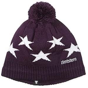 Zimtstern Beanie Star 14, aubergine/black, One size, 7733280355710