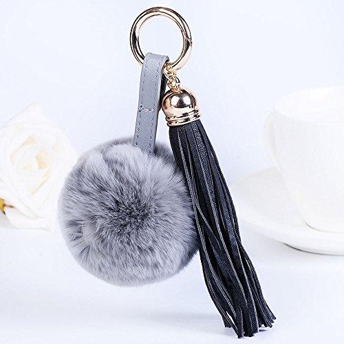 Vertragsverlängerung (OSYARD Schlüsselanhänger,Keychain,Kunstfell Flauschigen Pompom Ball für Auto Schlüsselanhänger Tasche Deko Zubehör Fellbommel Keyring Schlüsselringe Quaste Handtaschenanhänger)