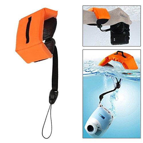 Gudelaa Kamera Float, Floating Hand Handschlaufe für Unterwasserkamera GoPro, Panasonic Lumix, Nikon COOLPIX S33 & andere Kameras