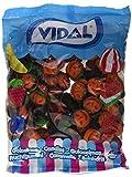 Vidal Calabazas Brillo Golosina - 1000 gr - [pack de 6]