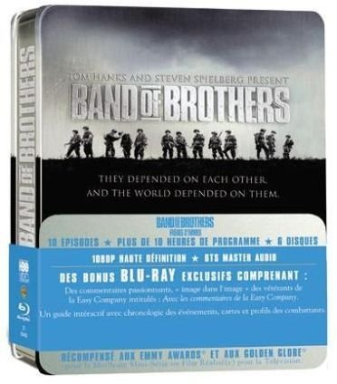 Band of Brothers - Frères d'armes - Coffret intégral [Blu-ray]