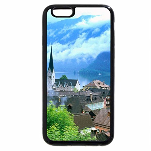 iPhone 6S / iPhone 6 Case (Black) Houses And Church