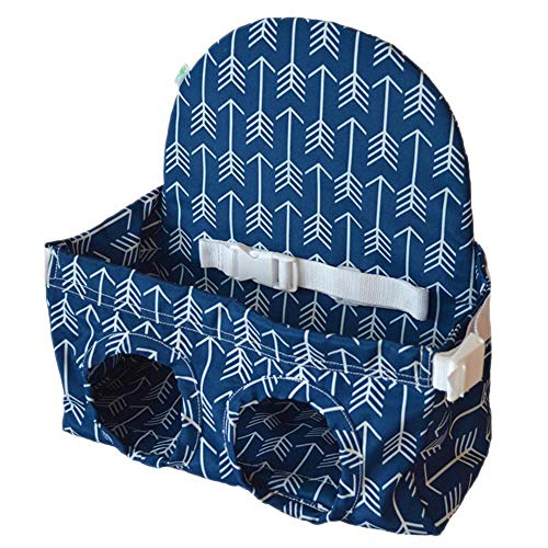 Supermarket Einkaufswagensitz, Hochstuhl-Bezug Ultra Plüsch, Sicherheitsgurt, maschinenwaschbar für Baby und Kleinkind