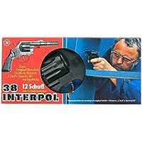 """Schrödel - 2052540 - Pistolet - Colt 12 Coups - Interpol 38"""" - 23 Cm"""