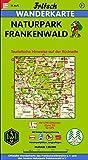 Fritsch Karten, Nr - 51, Naturpark Frankenwald (Fritsch Wanderkarten 1:50000) -