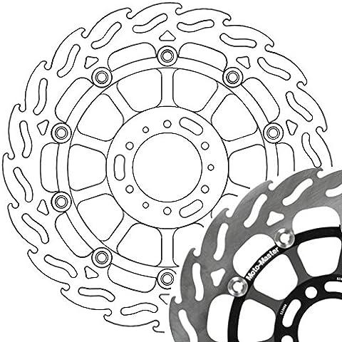 Disque de frein Moto-Master 113011 Flame vl, flottant pour Honda CBR 600 F PC35 | Honda CBR 900 RR Fireblade SC28 | Honda GL 1500 F6C Valkyrie SC34 | Honda VFR 800 RC46 | Honda VFR 800 A ABS RC46 | Honda VFR 800 Crossrunner