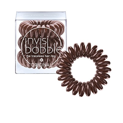 Invisibobble Original Haargummis, pretzel brown, 1er Pack, (1x 3 Stück)