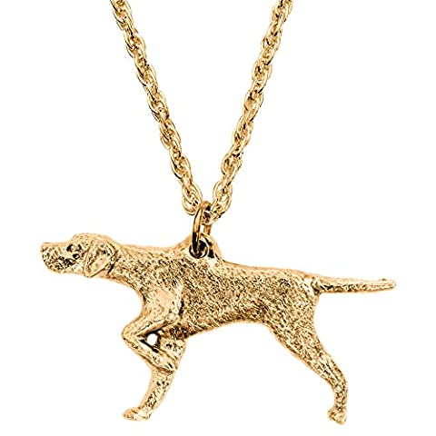 Pointer Anglais Made in UK, Collection Pendentif Collier Artistique Style