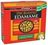 Seapoint Farms Lightly Salted Dry Roasted Edamame, 0.79 Ounce - 8 per pack -- 12 packs per case.