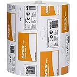 Katrin 460201classique Système Serviette de toilette Rouleau, 2plis, Blanc (lot de 6)