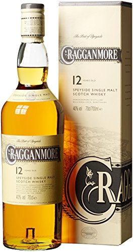Cragganmore 12 Jahre Speyside Single Malt Scotch Whisky (1 x 0.7 l)