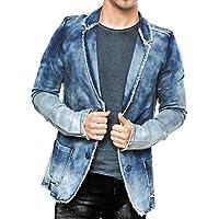 Giacca di jeans Vintage Denim Giacca uomo Pitt ID1367