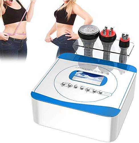 3 in 1 Rf Radiofrequenz Fettverbrennung Schlanke Maschine 40 KHz Fettabbau Körperformung Haut Hebe Schönheit Maschine für die Gewichtsreduktion von Gesicht Hals Bauch Taille Oberschenkel Wade Gesäß -