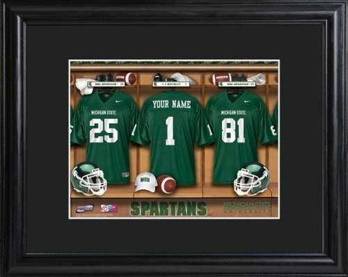 college-with-wood-frame-michigan-state-spartans-football-locker-room-print