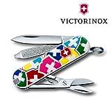 Victorinox - Couteau Suisse de Poche - Victorinox Classic VX Colors - 0.6223.841 - 7 Fonctions