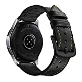 Myada Compatible pour Bracelet Samsung Gear S3 Frontier Cuir, Bracelet Samsung Galaxy...