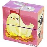 Goula - 4 cubos de diseño granja (Diset 53417)